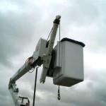 2005 Hi-Ranger, Hyd. jib crane
